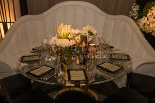 wedding-reception-round-table-art-deco-design-gatsby-theme-bench-booth-seating-one-half-of-table