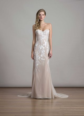 bridal-fashion-week-liancarlo-strapless-column-wedding-dress-with-white-embroidery-orchid-design