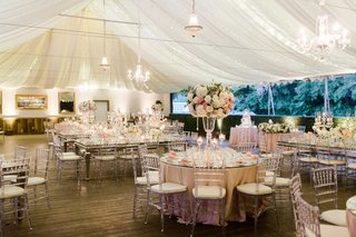 calamigos-ranch-tented-wedding-reception-draped-fabric-with-twinkle-lights