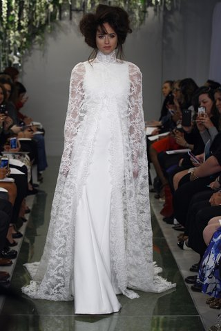 theia-devon-wedding-dress-with-a-re-embroidered-chantilly-lace-cape-over-crepe-sheath-gown