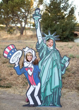 uncle-sam-and-statue-of-liberty-cardboard-cutouts-at-bbq