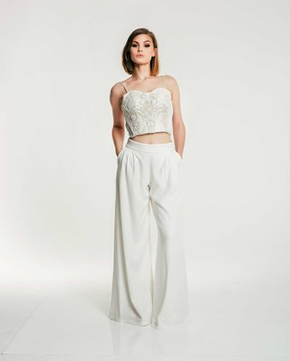 olia-zavozina-fall-2017-bridal-collection-madeline-spaghetti-strap-crop-top-and-wide-leg-pants