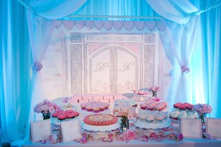 wedding-dessert-table-in-special-tent-in-ballroom