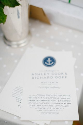 wedding-ceremony-card-with-blue-nautical-anchor-motif