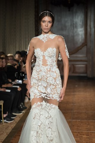 idan-cohen-fall-2017-luisa-embroidery-dress-over-the-knee-cutout-tulle-skirt-lace-shoulder-cover