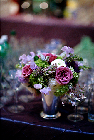 wedding-reception-floral-arrangement-of-white-pink-light-purple-and-green-flowers