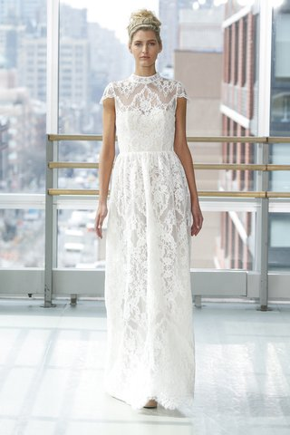 look-5-by-gracy-accad-spring-2019-corded-lace-gown-victorian-neckline-cap-sleeves-open-back