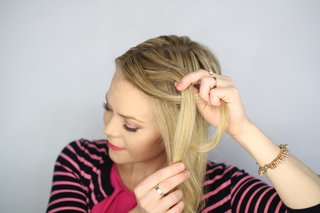 step-number-three-of-knotted-updo-wedding-hairstyle-tutorial