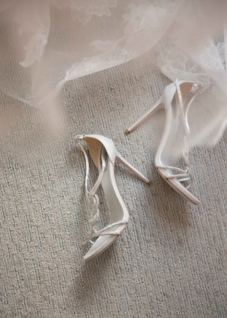 strappy-sandals-heels-wedding-shoes-rene-caovilla-with-vera-wang-lace-wedding-dress