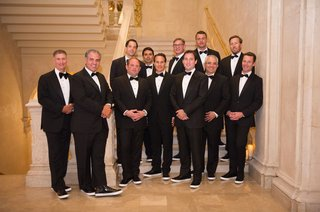 groom-and-groomsman-groomsmen-family-with-bow-ties-and-patent-leather-sneakers-for-shoes