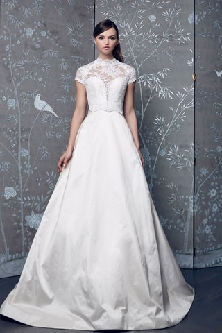 legends-romona-keveza-fall-2018-ball-gown-with-cap-sleeve-blouse-high-neck-over-wedding-dress