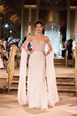 idan-cohen-fall-winter-2018-empire-of-love-wedding-dress-strapless-bridal-gown-detachable-sleeves