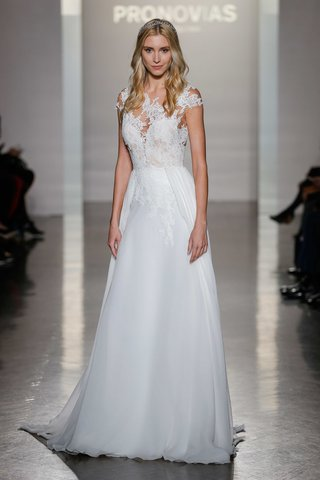 pronovias-2017-nubio-a-line-silk-chiffon-skirt-lace-embroidery-illusion-neckline-sweetheart-wedding