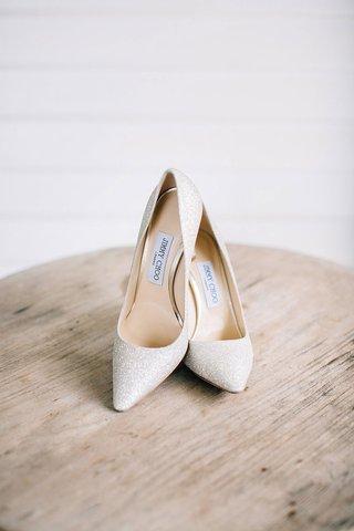 wedding-shoes-white-glitter-bridal-heels-pumps-jimmy-choo-romy-100-style