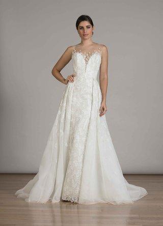 liancarlo-fall-2016-sheath-embroidered-wedding-dress-with-overskirt