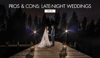 pros-cons-perks-drawbacks-late-night-weddings-last-long-time-midnight-wee-hours-of-morning