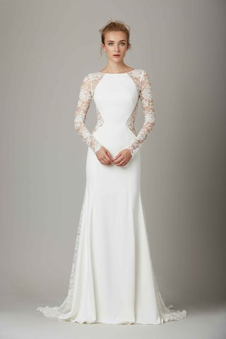 the-lounge-lace-cut-out-wedding-dress-by-lela-rose-fall-winter-2016