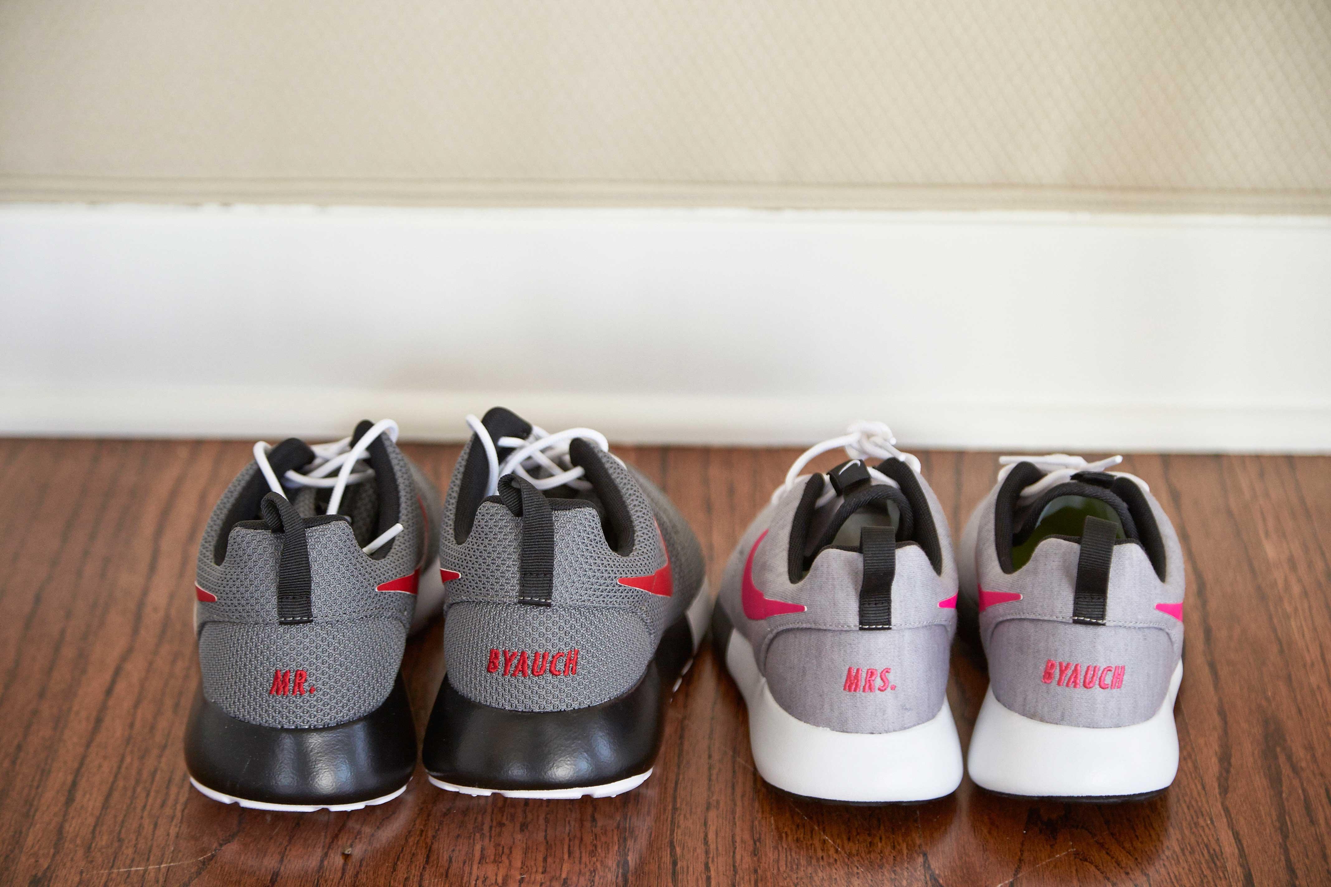 Custom Nike Shoes for Bride \u0026 Groom