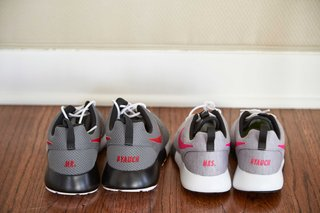 groom-grey-and-black-custom-nike-shoes-and-bride-grey-and-white-custom-kicks