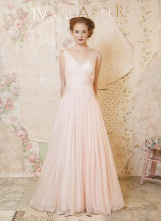 ivy-aster-sleeveless-blush-wedding-dress-from-the-spring-2016-collection