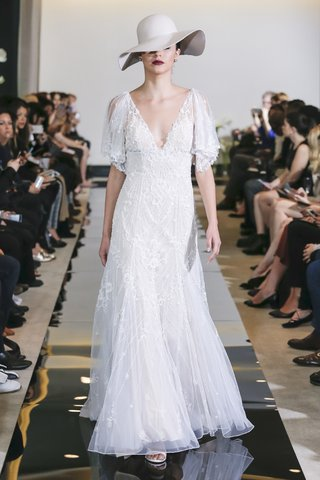 justin-alexander-spring-2018-beaded-tulle-a-line-gown-illusion-flutter-sleeves-designer-wedding
