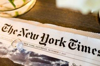 wedding-ring-double-halo-oval-diamond-on-new-york-times-newspaper-diamonds-on-band