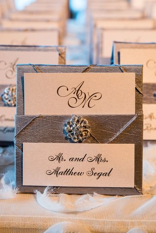 grey-silver-wedding-reception-escort-card-with-jewel-detail