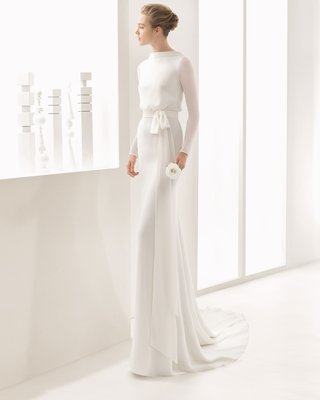 rosa-clara-bridal-nantes-long-sleeve-high-neck-wedding-dress-blouse-bodice-chiffon-wrap-tie-low-back