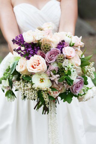 purple-lilac-white-and-light-pink-unstructured-wedding-flower-bouquet