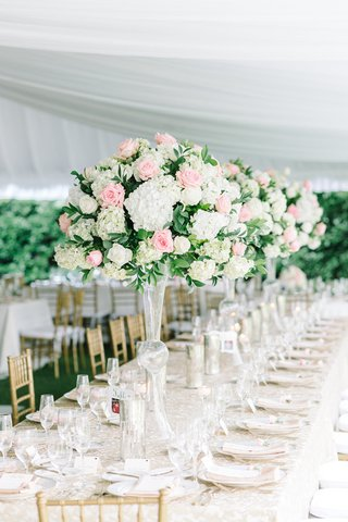 long-table-blush-ivory-florals-gold-details-wedding-south-carolina-pastel-glass-feminine-colors