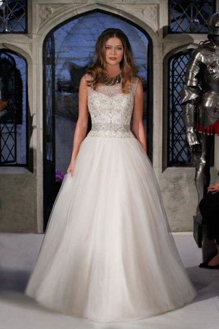 oleg-cassini-spring-2018-wedding-dress-ball-gown-with-silver-beaded-bodice-sleeveless-gown