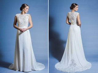 jinza-couture-bridal-2016-traditional-and-elegant-wedding-dress-with-lace-bodice-silk-crepe-skirt