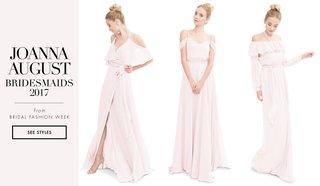 joanna-august-2017-bridesmaid-dresses-off-shoulder-long-bridesmaid-styles-light-pink-ruffle