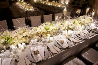 white-flower-and-silver-branch-table-runner-wedding-reception