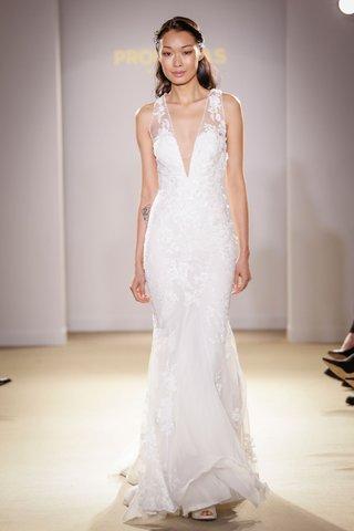atelier-pronovias-2019-bridal-collection-wedding-dresses-v-neck-illusion-bridal-gown